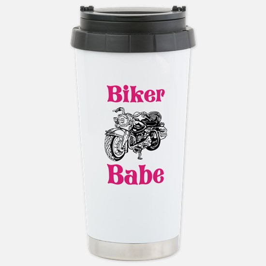 Biker Babe Travel Mug