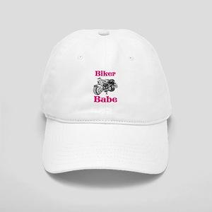Biker Babe Baseball Cap