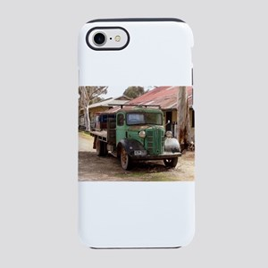 Old green truck iPhone 7 Tough Case