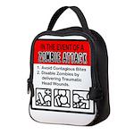 &Quot;Zombie Attack&Quot; Neoprene Lunch Bag