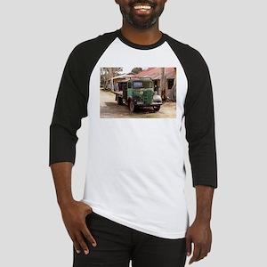Old green truck Baseball Jersey
