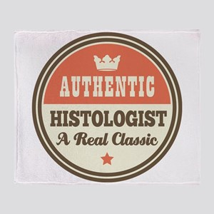 Histologist Vintage Throw Blanket
