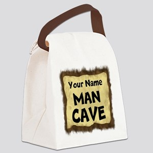 Custom Man Cave Canvas Lunch Bag