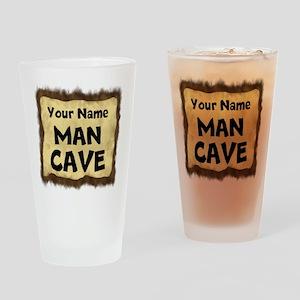 Custom Man Cave Drinking Glass