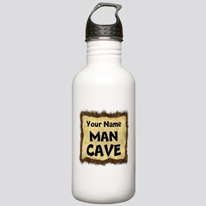 Custom Man Cave Water Bottle