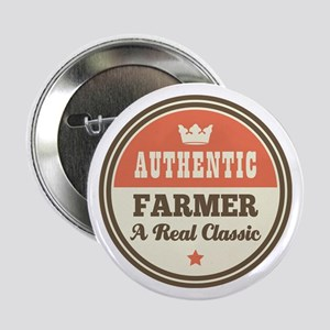 "Farmer Vintage 2.25"" Button"