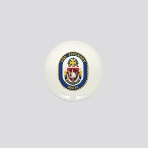 USS Pinckney (DDG-91) Mini Button