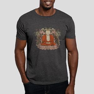 Buddha on Lotus Flower Dark T-Shirt