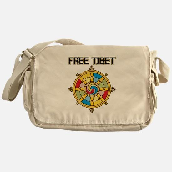 Free Tibet Wheel Messenger Bag