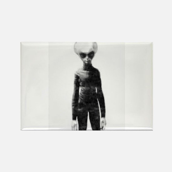 Skinny Bob Grey Alien Magnets