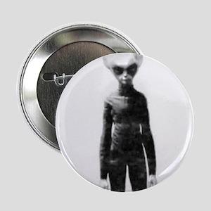 "Skinny Bob Grey Alien 2.25"" Button"