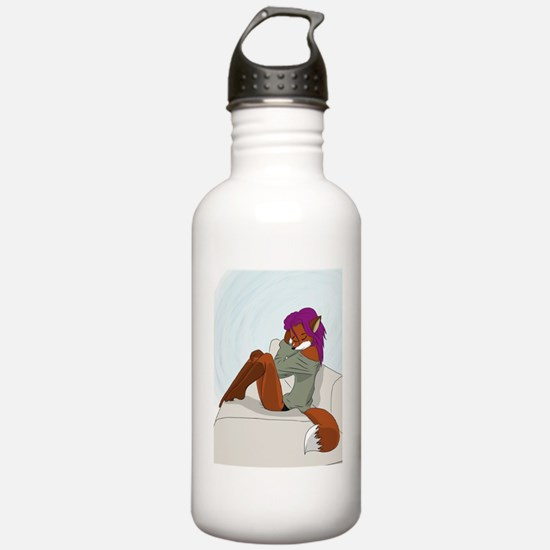 Cute little fox  Water Bottle