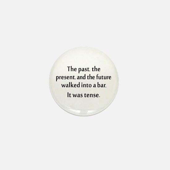 Grammar Joke Mini Button