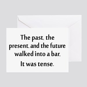 Grammar Joke Greeting Card