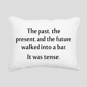 Grammar Joke Rectangular Canvas Pillow