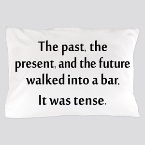 Grammar Joke Pillow Case
