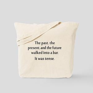 Grammar Joke Tote Bag