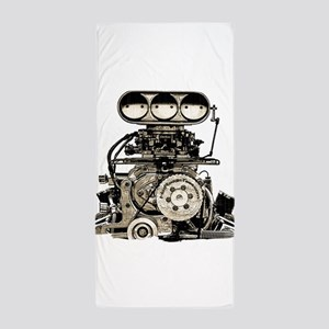 blower11 Beach Towel