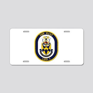 USS Wasp (LHD-1) Aluminum License Plate