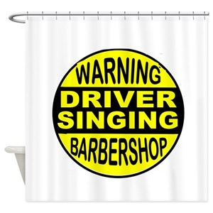 Barbershop Shower Curtains
