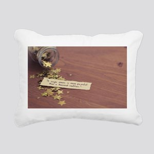 Single dream Rectangular Canvas Pillow