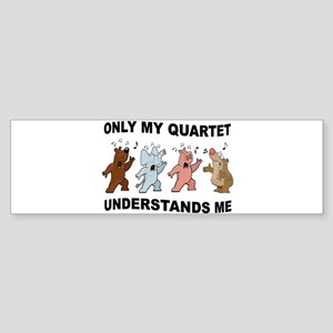 ANIMAL QUARTET Bumper Sticker