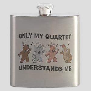 ANIMAL QUARTET Flask