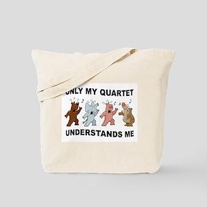 ANIMAL QUARTET Tote Bag