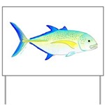 Bluefin Trevally Yard Sign