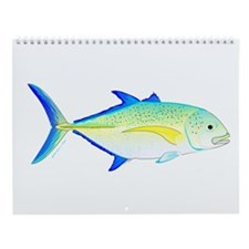 Jacks And Trevally Wall Calendar