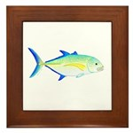 Bluefin Trevally Framed Tile