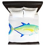Bluefin Trevally King Duvet