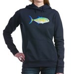 Bluefin Trevally c Hooded Sweatshirt