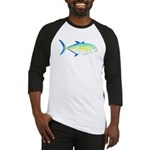 Bluefin Trevally c Baseball Jersey