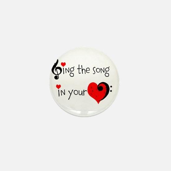 Heart Song Mini Button