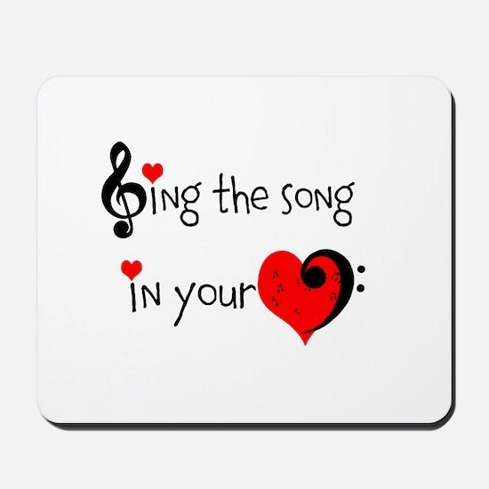 Heart Song Mousepad