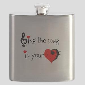 Heart Song Flask