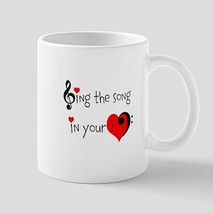 Heart Song Mug