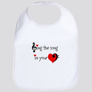 Heart Song Bib