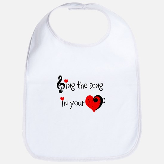 Heart Song Bib