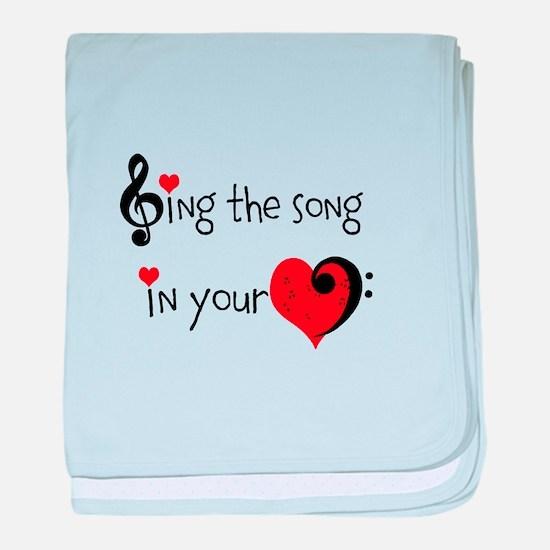 Heart Song baby blanket