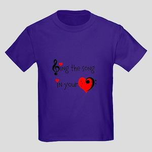 Heart Song Kids Dark T-Shirt