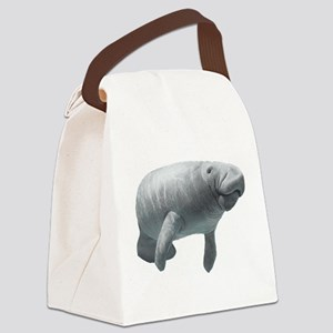 Manatee Canvas Lunch Bag