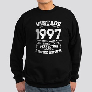 VINTAGE 1997 AGED TO PERFECTION Sweatshirt