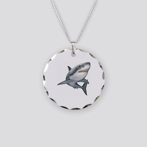 Shark Necklace Circle Charm