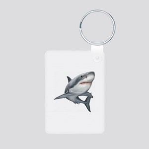 Shark Aluminum Photo Keychain