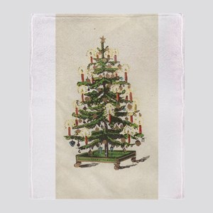 Oh Tannenbaum Throw Blanket