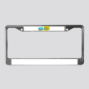 Welcome to Ventura License Plate Frame