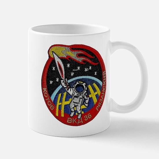 Spacewalk: The Olympic Torch Mug