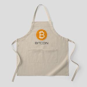 Bitcoin Orange Logo Apron